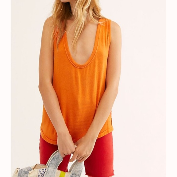 Free People Tops - FP Take The Plunge Tank NWT